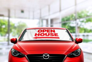Open House Windshield Banner