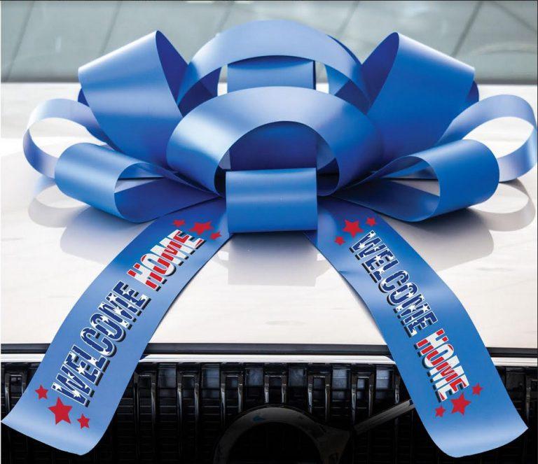 Welcome Home Car Bow, JumBow Customization
