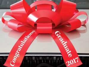 Graduation Car Bow