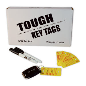 poly survivor tough key tags