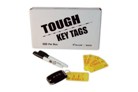 poly survivor tough key tags