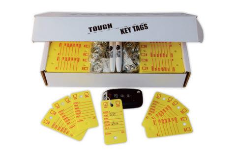 tough key tags