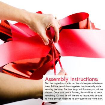 red pull bow assembly